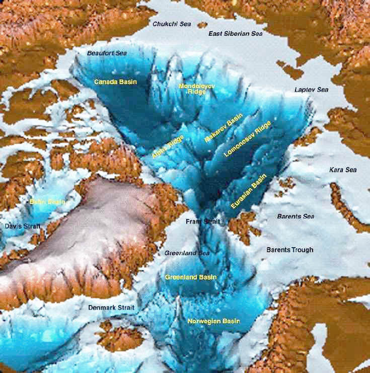 bathymetric_map_Arctic_Ocean